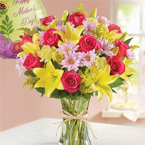 Flowers Bunches Of Love For Mom